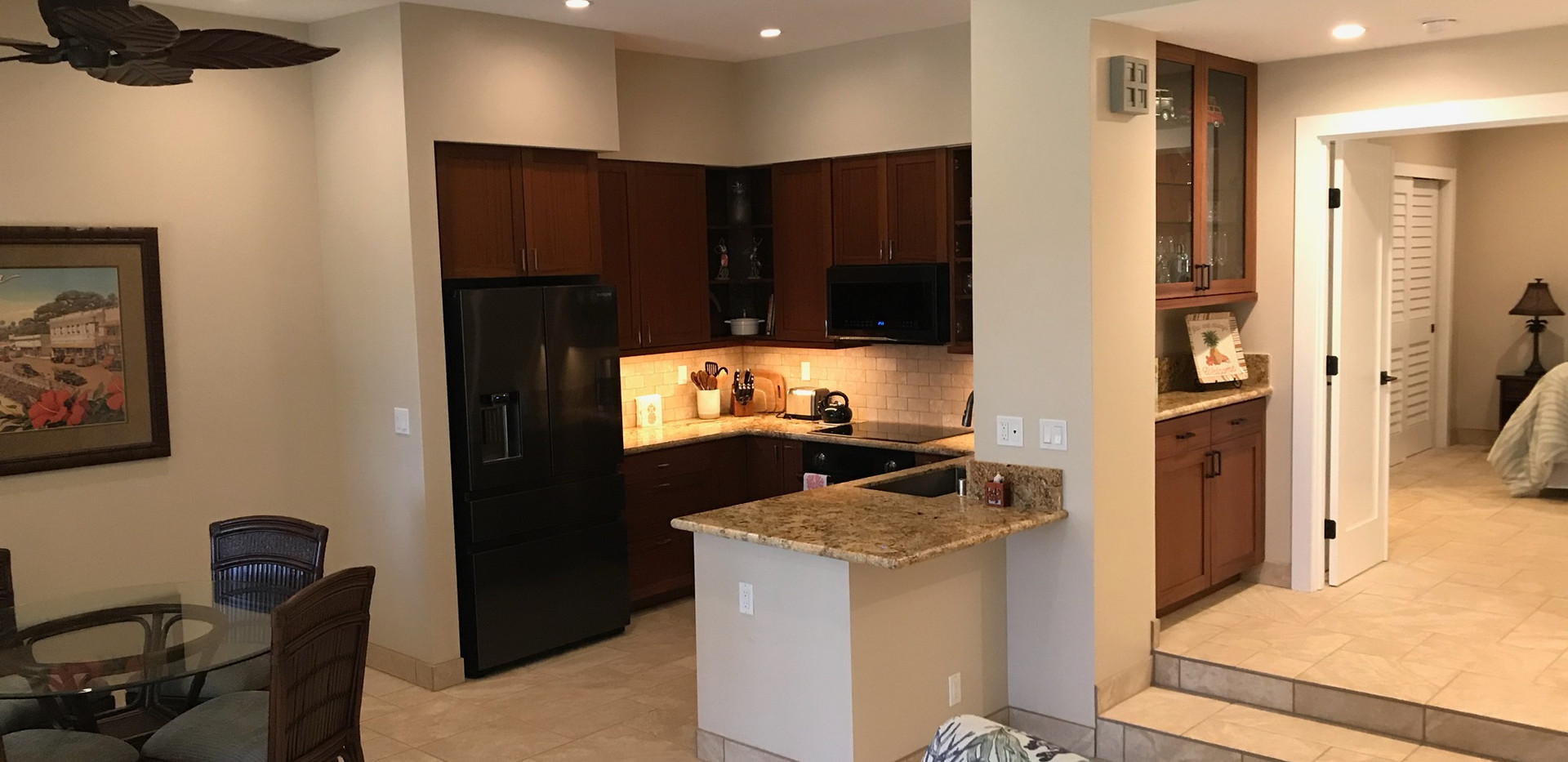 Living/Dining/Kitchen - After