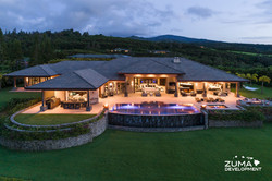 Weisel 701 - Exterior and pool Dusk