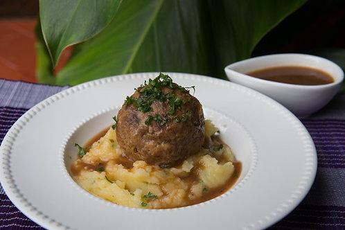 Pork Meatball with Gravy