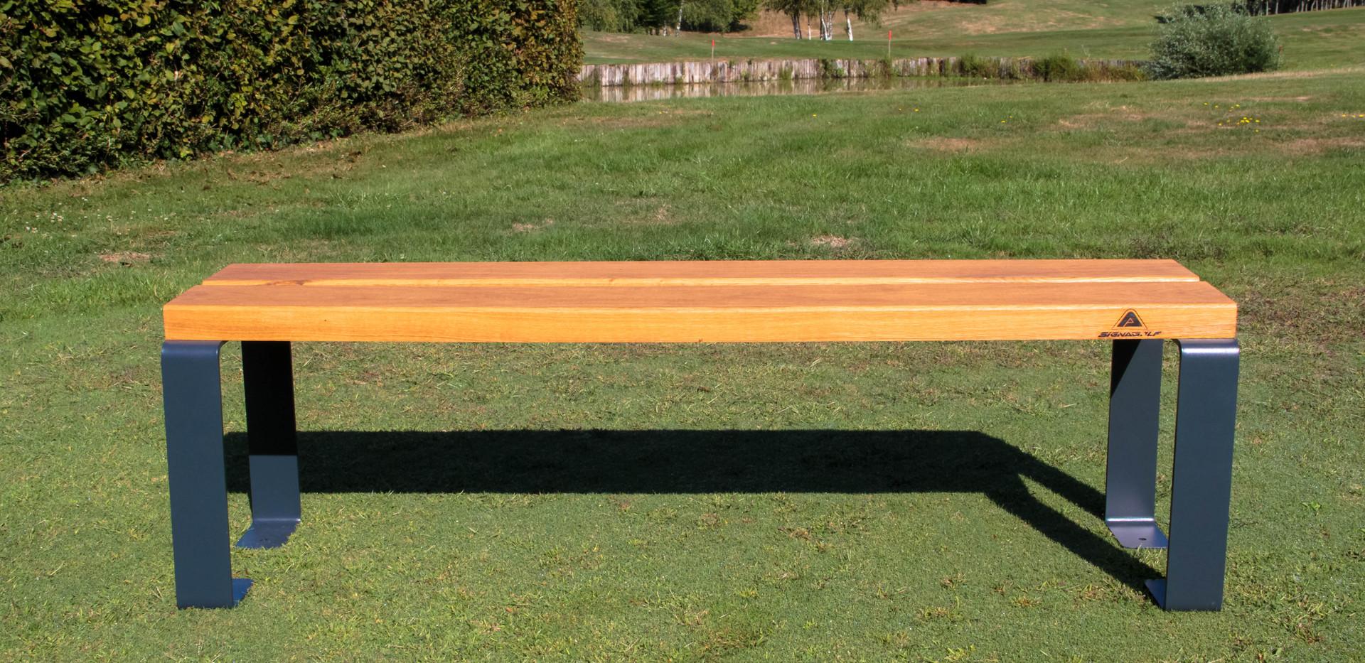 BANC HYBRID - 150cm - Chene francais PEF