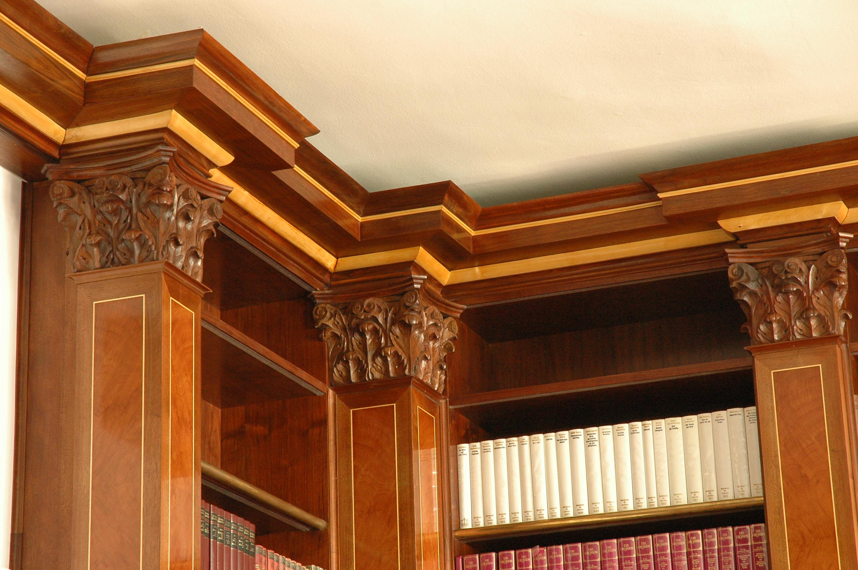 Detail der Bibliothek