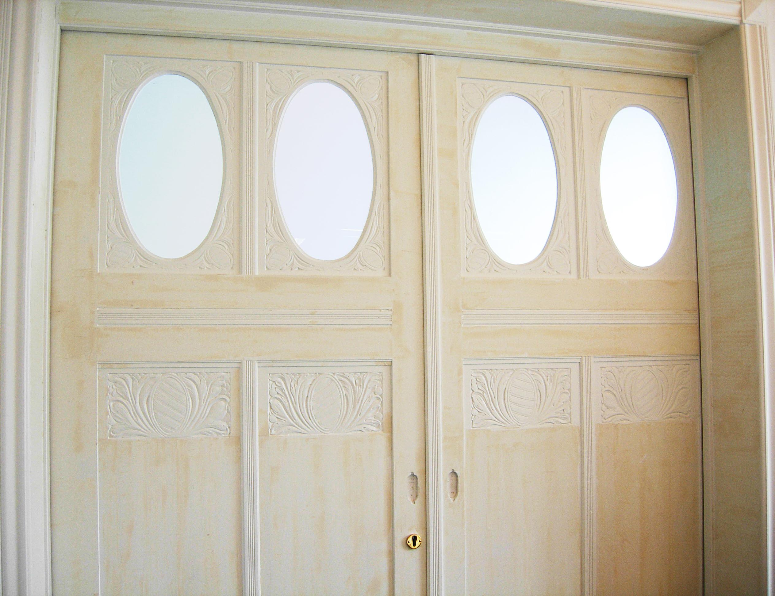 rekonstruierte Tür