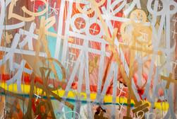 RETNA's  street art