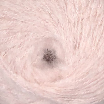 Альпака пуффи №4-розовый пудровый