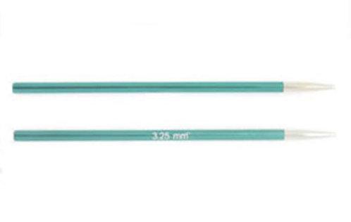 Спицы 3.25 mm съемные короткие Zing KnitPro