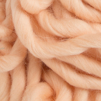 Wool decor №1215-персик