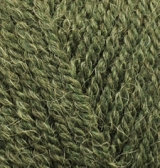 Alpaca Royal №567 - зеленый меланж