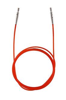 Леска красная 76см для создания круговых спиц длиной 100см KnitPro