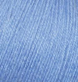 Baby wool №40-голубой