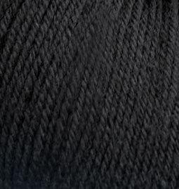 Baby wool №60 - черный