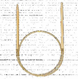 Спицы круговые 100 см 3,5 мм бамбуковые