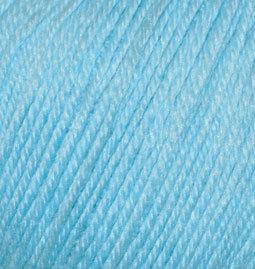 Baby wool №128 - голубой
