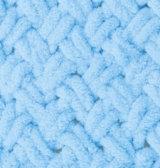 Puffy №287-голубой