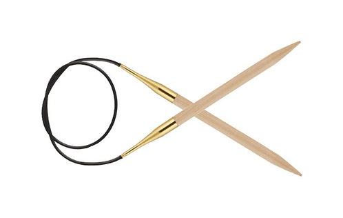 Спицы круговые 12.00 мм 60 см Basix Birch Wood KnitPro