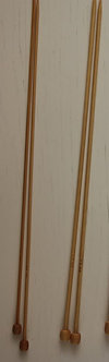 Спицы бамбуковые 3 мм, 4 мм