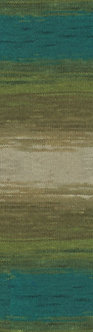 Angora Gold Batik №4684
