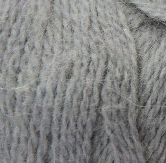 Пуффо ангора №115-серый/187м