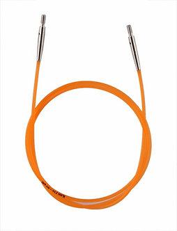 Леска оранжевая 56см для создания круговых спиц длиной 80см KnitPro