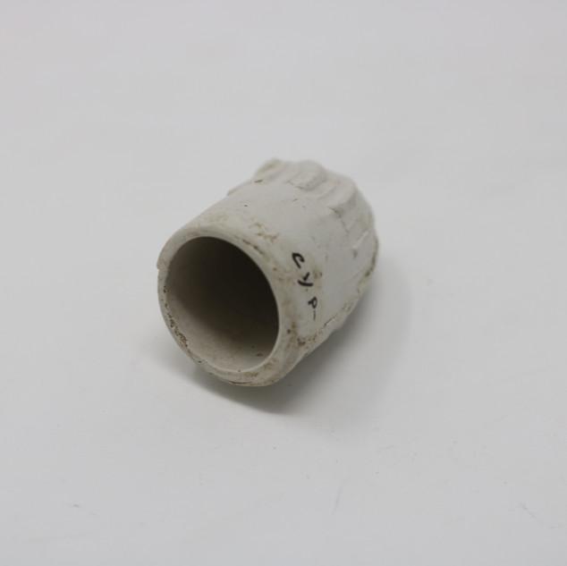Smoking pipe bowl.