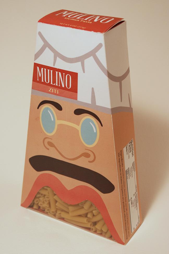 Mulino Pasta Box - Ziti
