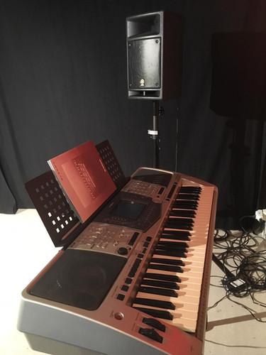 Keyboard mit Soundeffekte