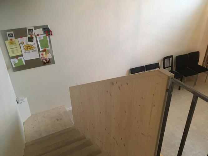 Treppe zum Spielraum