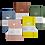 Thumbnail: Handmade Vegan Leather White Paper Art Journal A5 Hardover 160gsm Dotted Journal