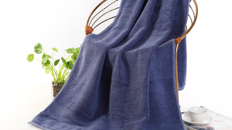 Eco-Friendly Bamboo Cotton Bath Towels