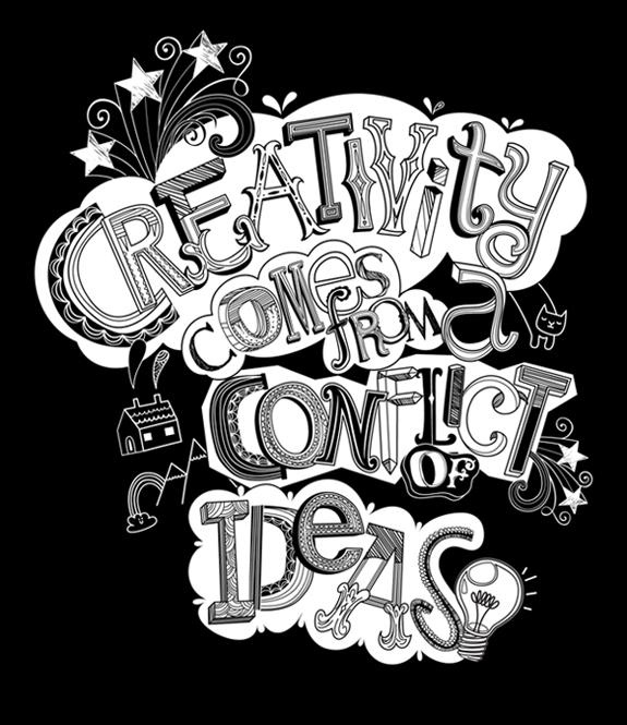Creativity doodle