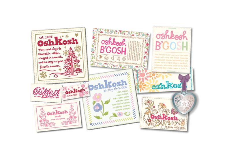 Oshkosh specialty labels