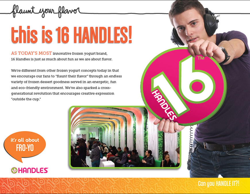 This is 16 Handles!
