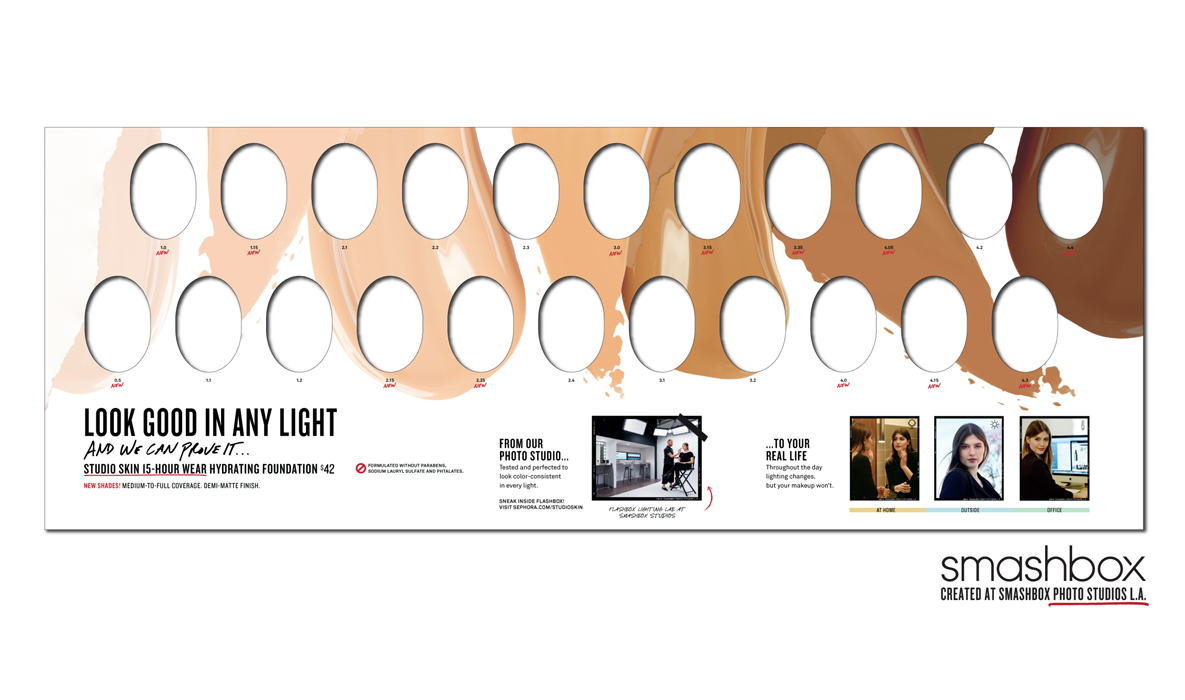Smashbox foundation navigation
