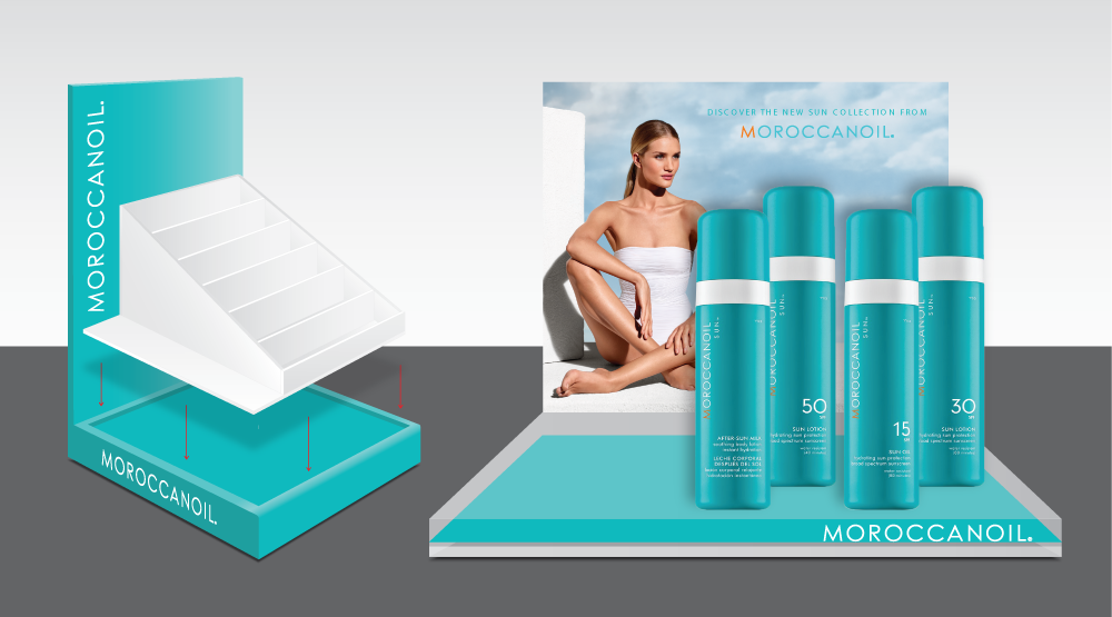 Moroccanoil product display