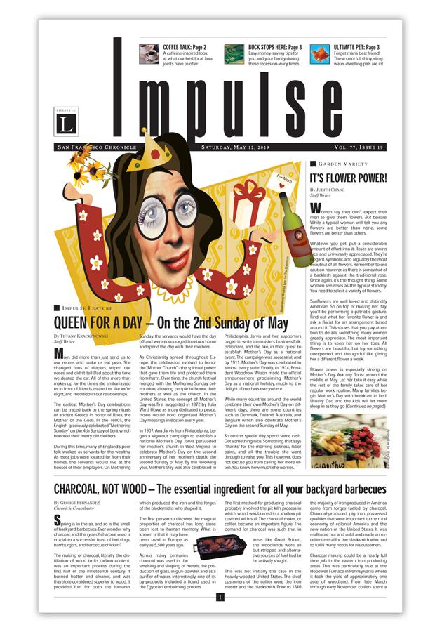 Impulse newsletter