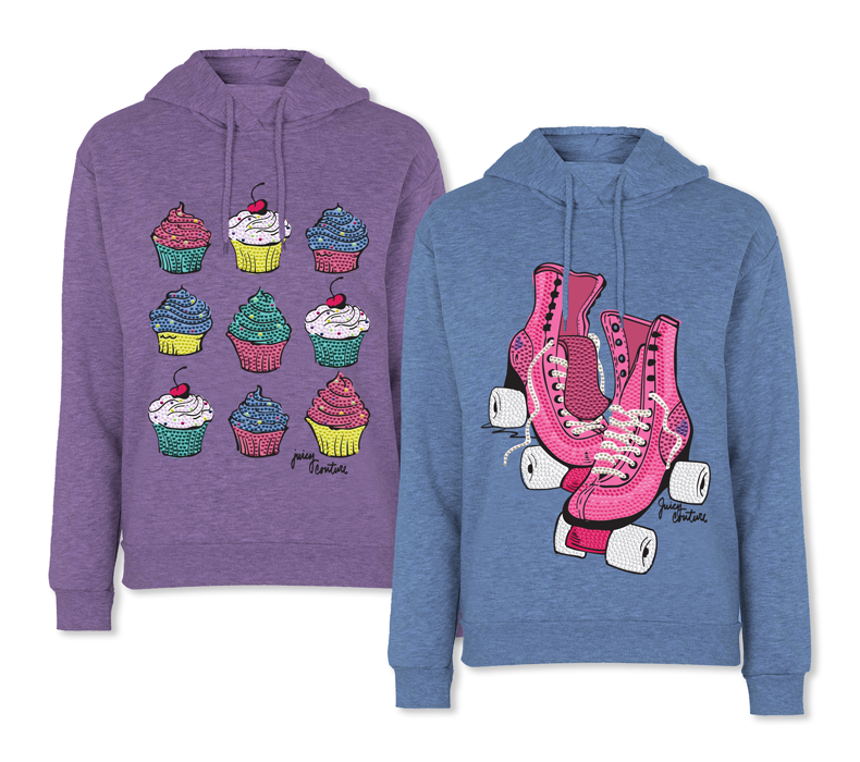 Juicy Couture bling hoodies