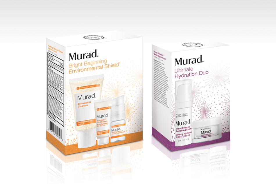 Murad speciality holiday packaging
