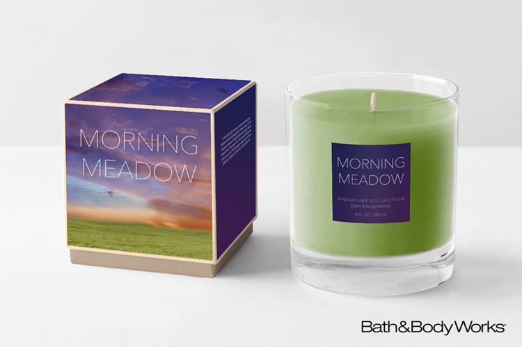 Bath & Body Works candle re-brand