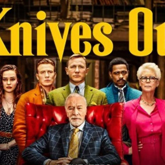 Outdoor Movie Knives Out