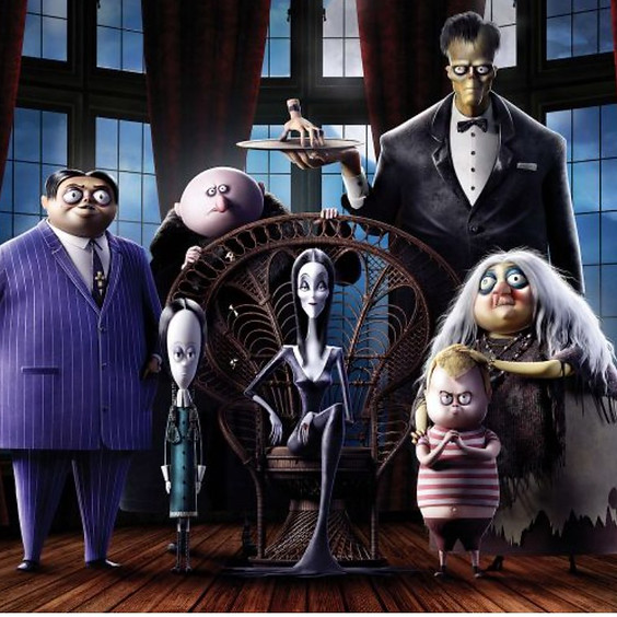 Outdoor Movie The Addams Family