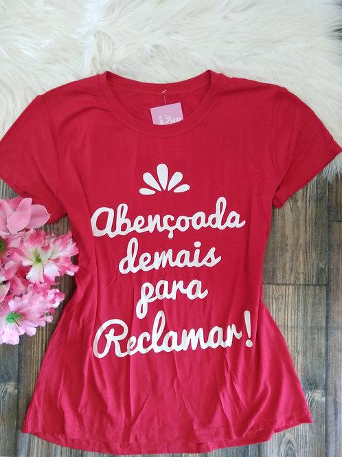 T-shirts Vermelha G