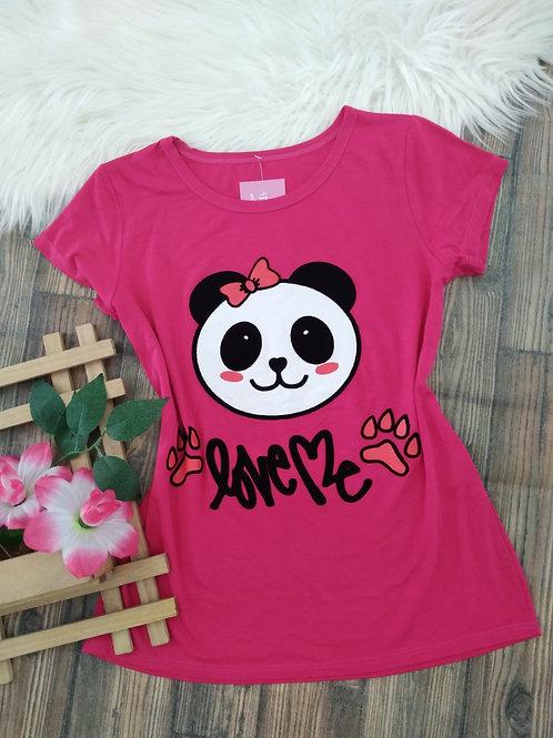 T-shirts Pink Panda P/M