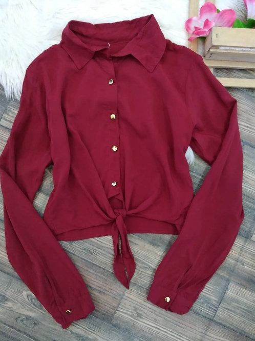 Camisa Cropped P/M