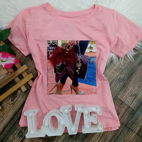 T- shirt Rosa