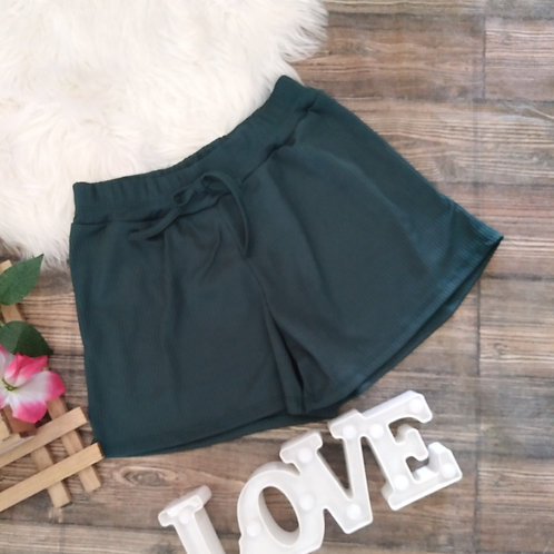Shorts casual verde M
