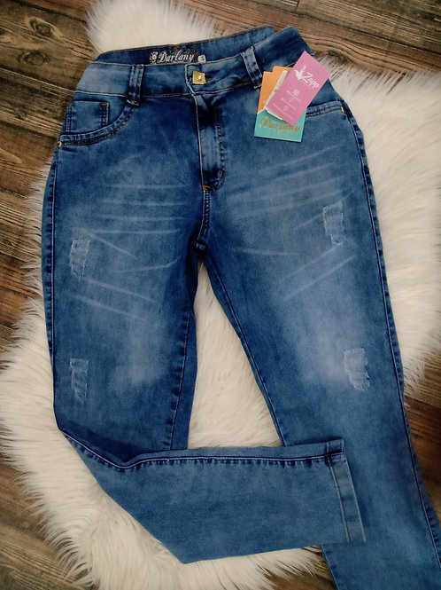 Calça jeans skinny plus size 46