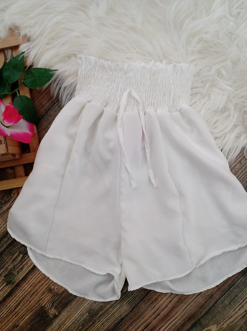 Shorts Godê branco P/M