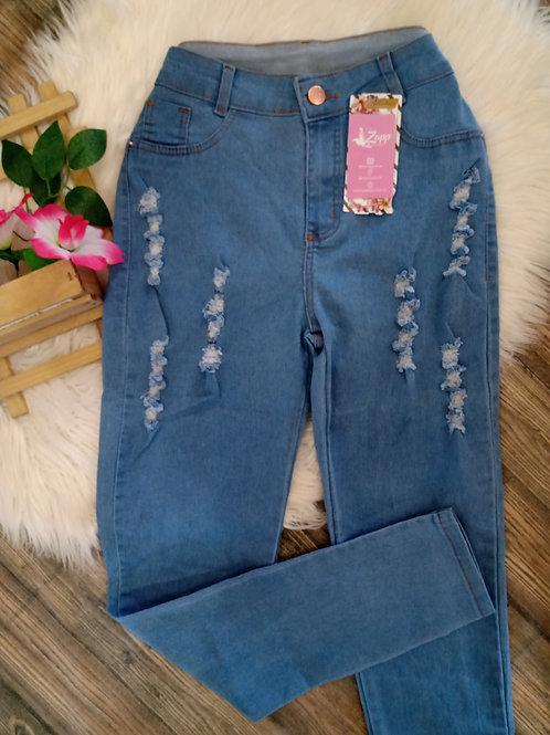 Calça jeans skinny 46