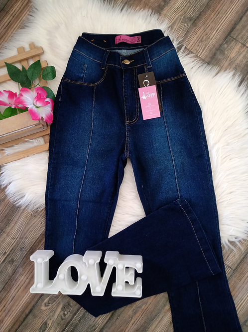 Calça Jeans Flare 42
