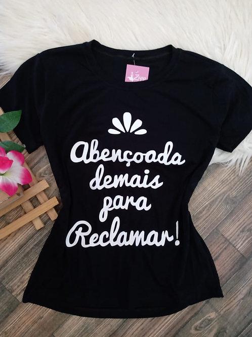 T-shirts Preta M/G