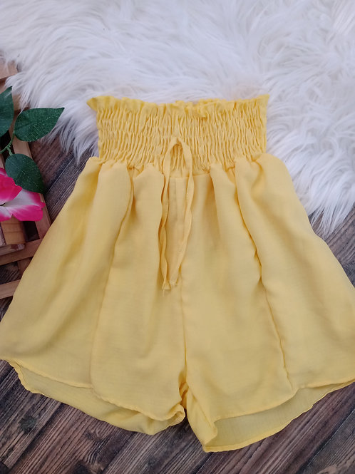 Shorts Godê Amarelo P/M